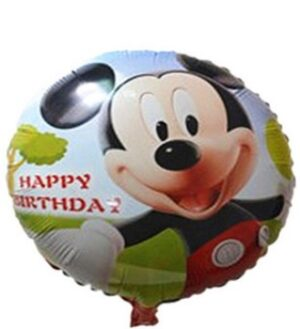 Mickey Mouse Happy Birthday 45x45cm