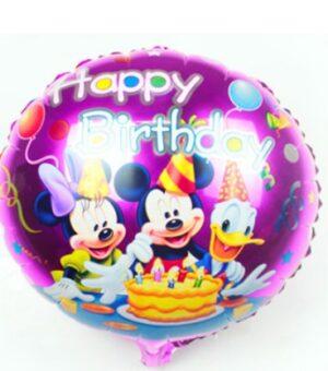Mickey Happy Birthday 45x45cm