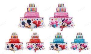 Geburtstagstorte Mickey/Minnie 59x85cm