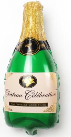 Champagner Flasche 51x100cm