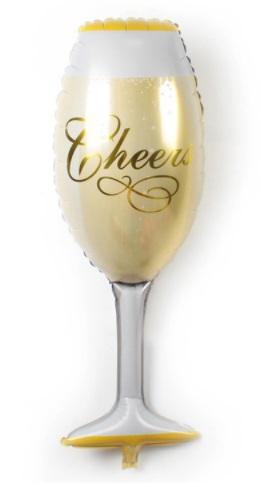 Champagner Glas 41x91cm